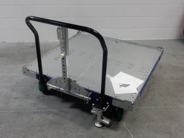 The best of flat deck tugger carts by FlexQube