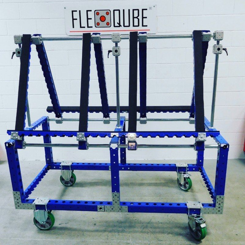 Transport cart for windows and doors