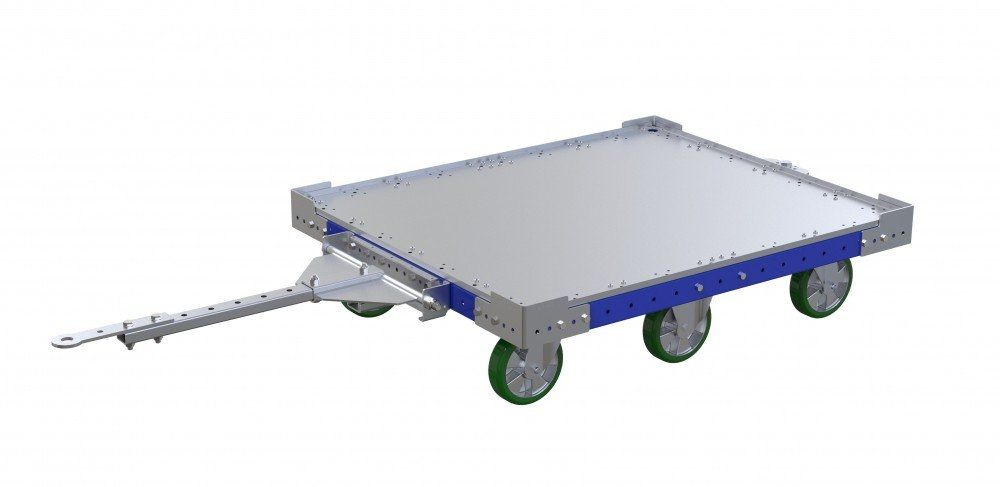 FlexQube Tugger Cart with tow bar