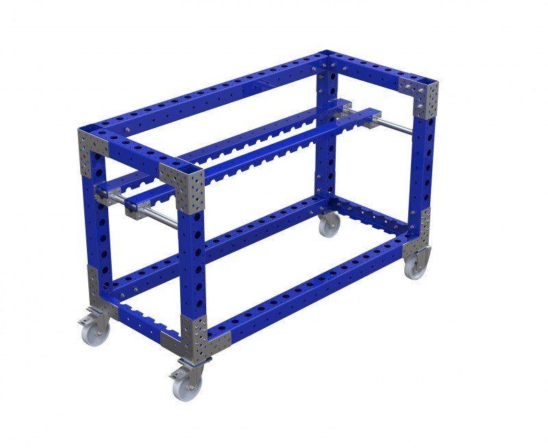 FlexQUbe industrial assembly line cart