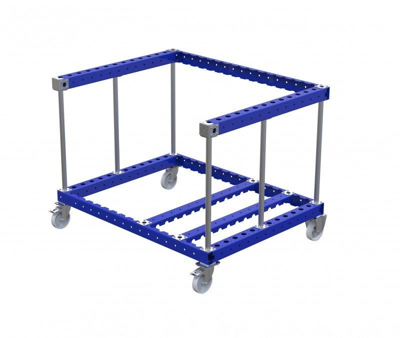 FlexQube assembly line cylinder cart