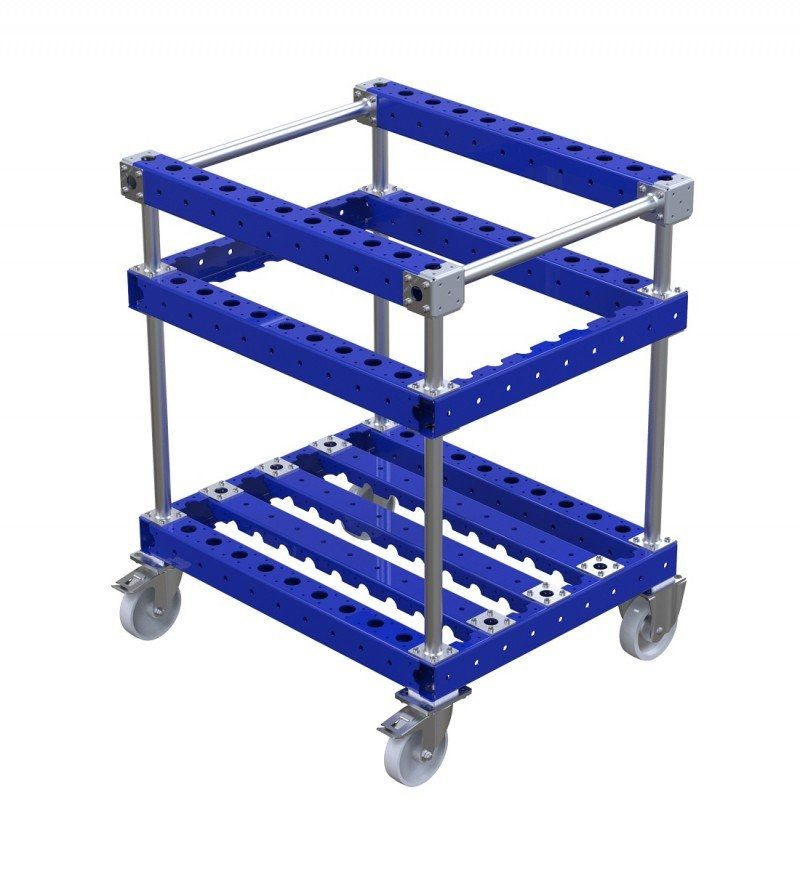 FlexQUbe modular industrial torque tool cart