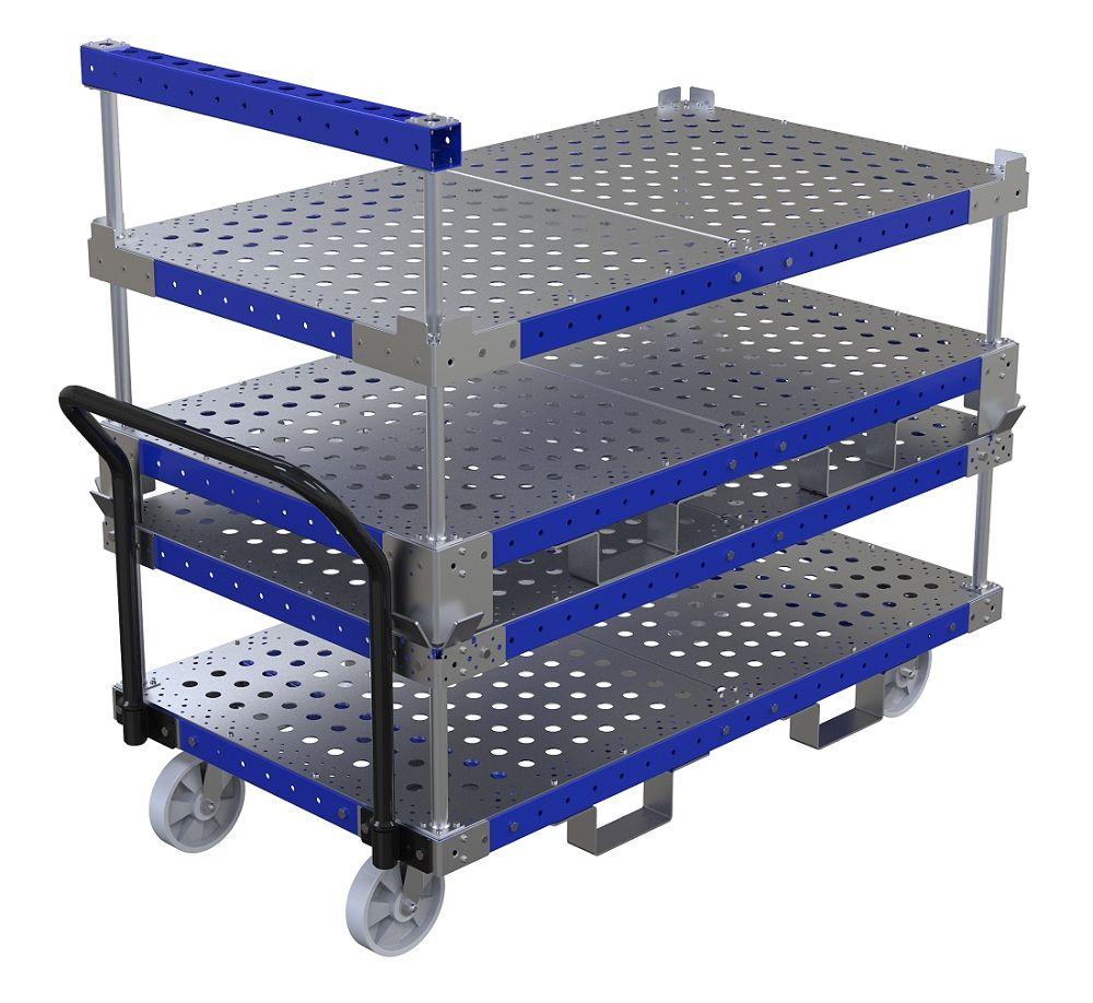 FlexQube stackable carts