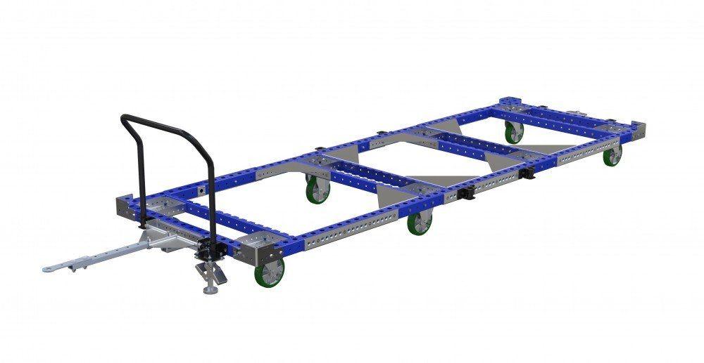 Long FlexQube pallet cart