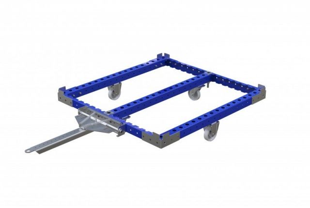 FlexQube pallet cart with tow bar