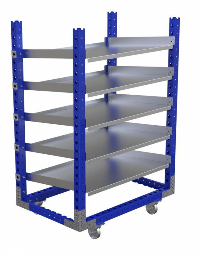 Order for flow shelf carts from Houston, Texas