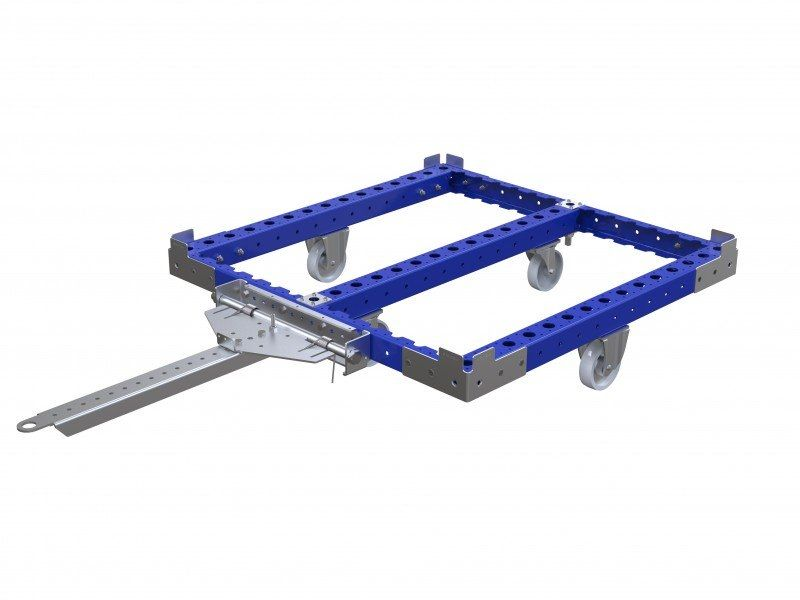 pallet cart without flat deck
