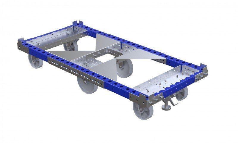 Standard pallet cart without handlebar
