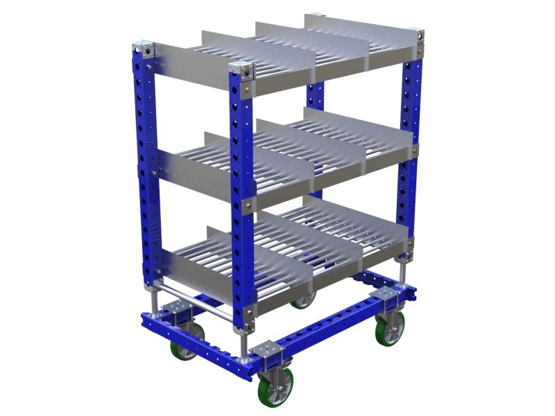 FlexQube modular rack cart