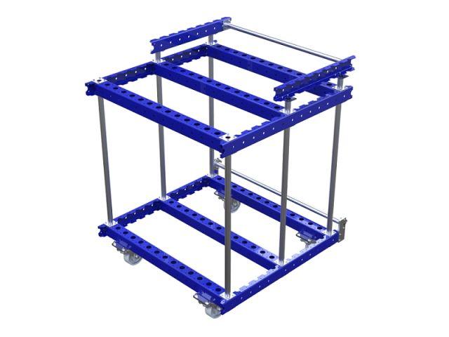 FlexQube Material Handling custom rack