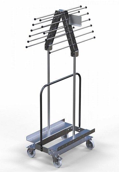 FlexQube kit cart for hanging lightweight materials