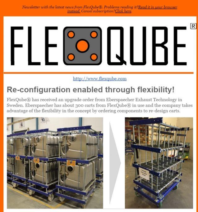 FlexQube newsletter