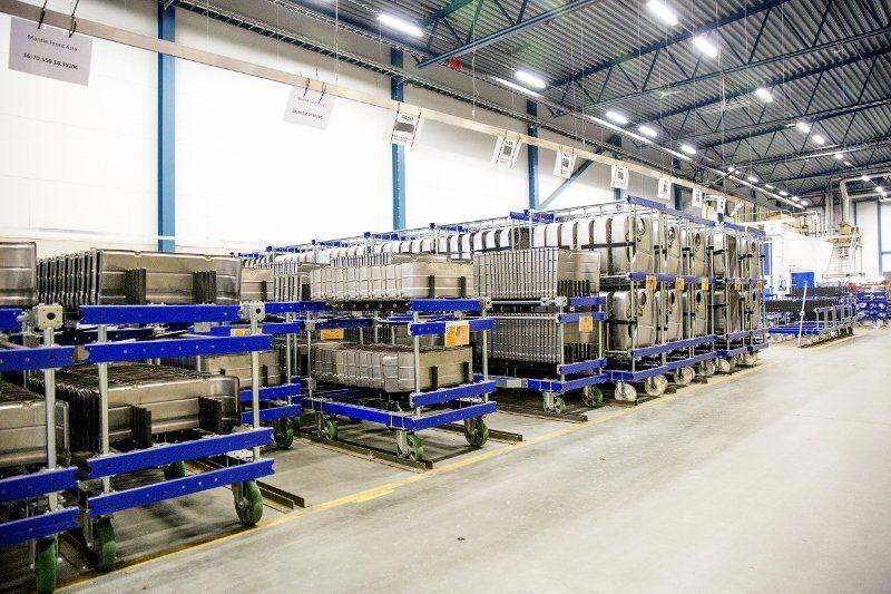 FlexQube receives an upgrade order from Eberspaecher Exhaust Technology!