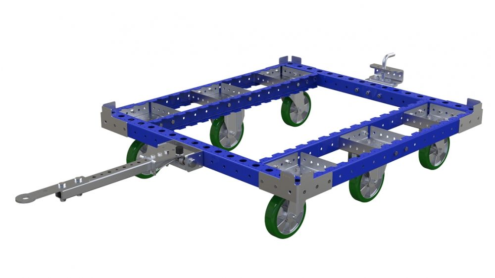 FlexQube tugger with added tow bar