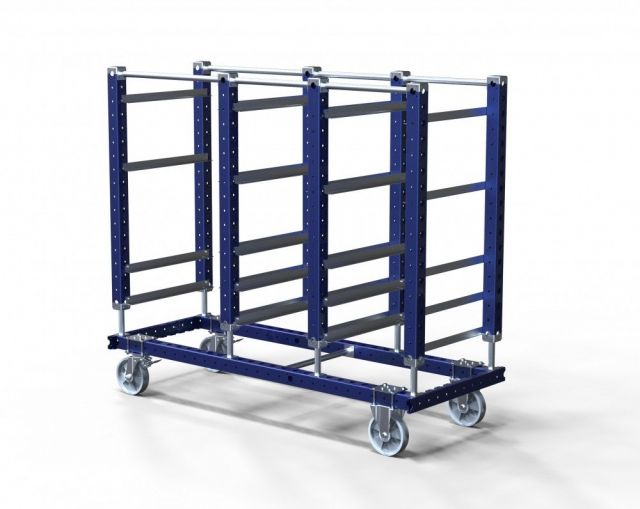 FlexQube Material Handling daughter cart