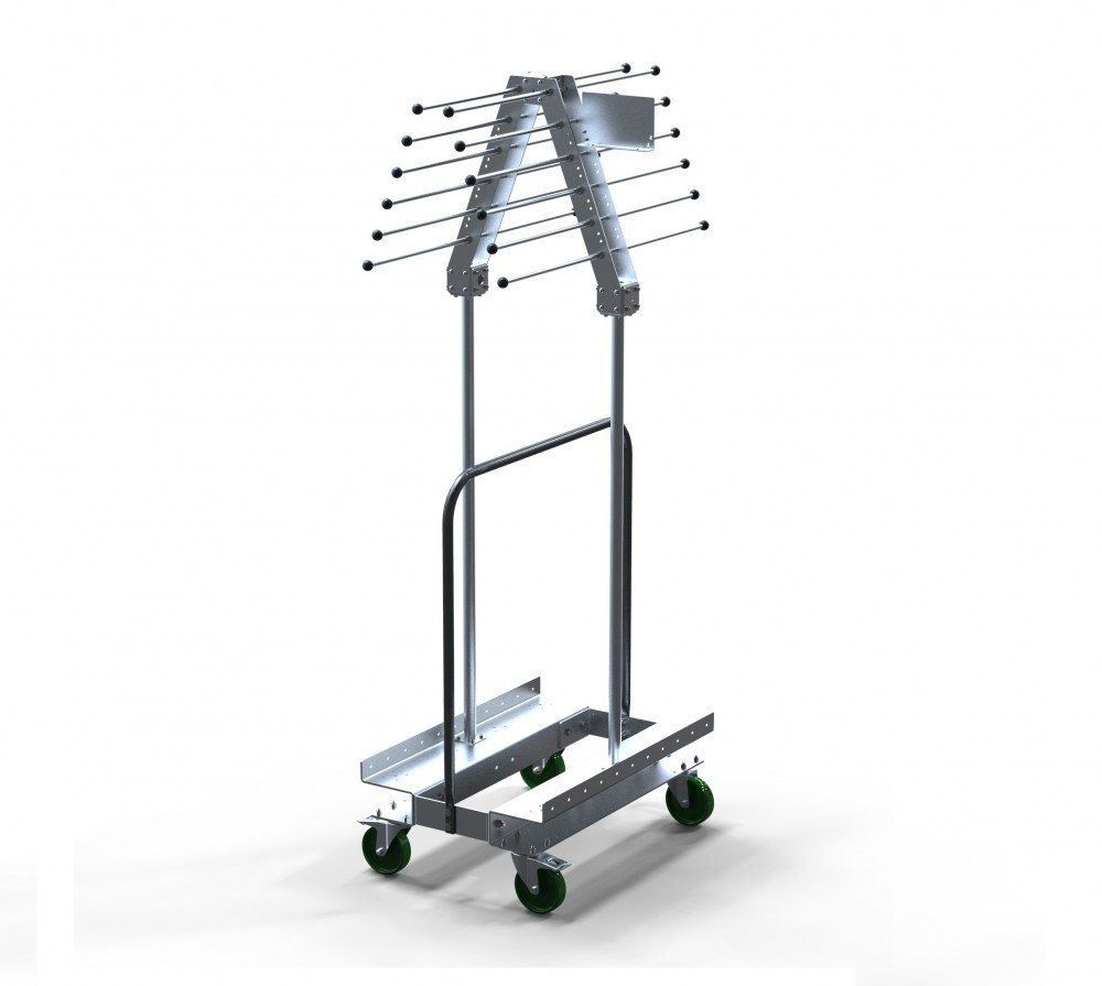 Custom design lightweight hanging cart