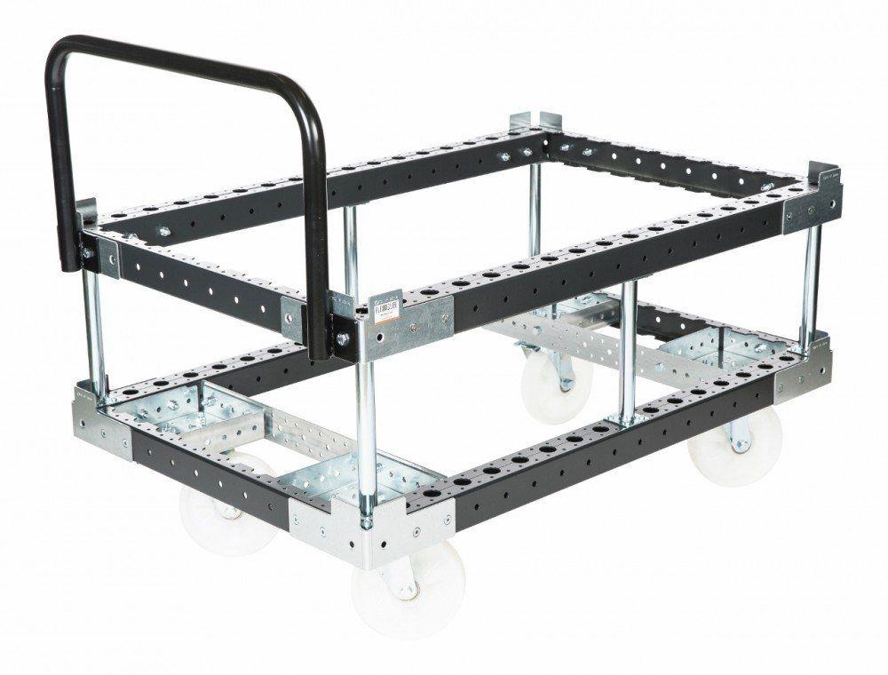 FlexQube two level pallet cart