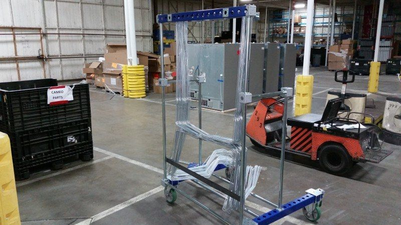 FlexQube hanging cart