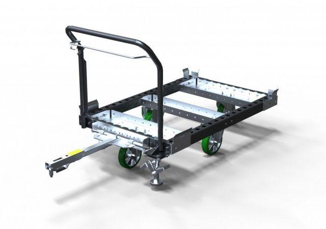 FlexQube euro pallet tugger cart