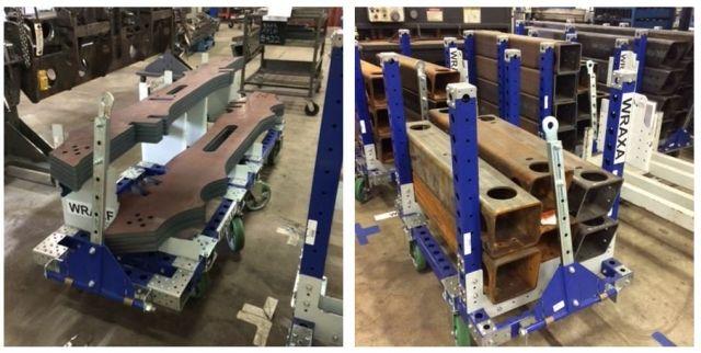 FlexQube Inc. receives an order for 60 carts!
