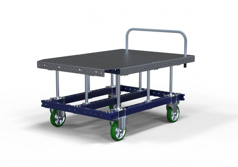 FlexQube raised pallet cart