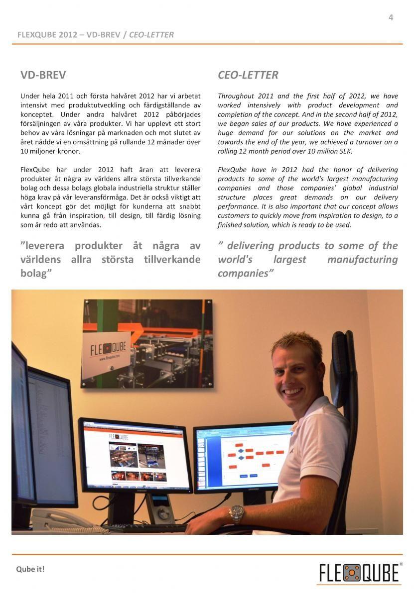 Anders Fogelberg CEO FlexQube