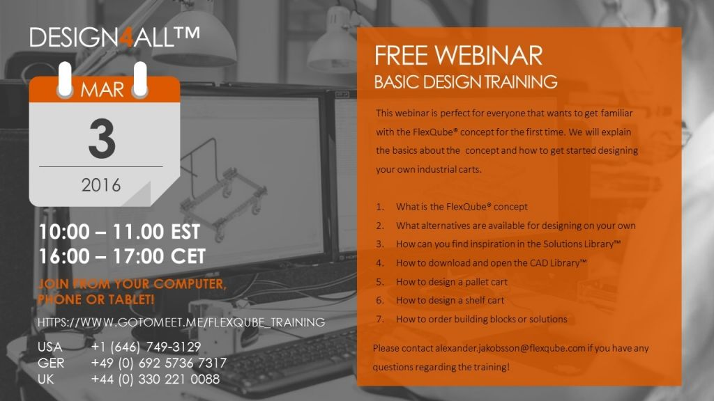 Free Webinar - Basic Design Training