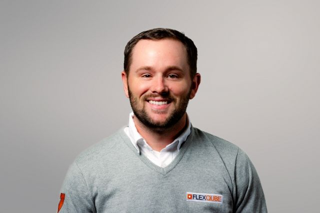 FlexQube Operations manager Adam Gay