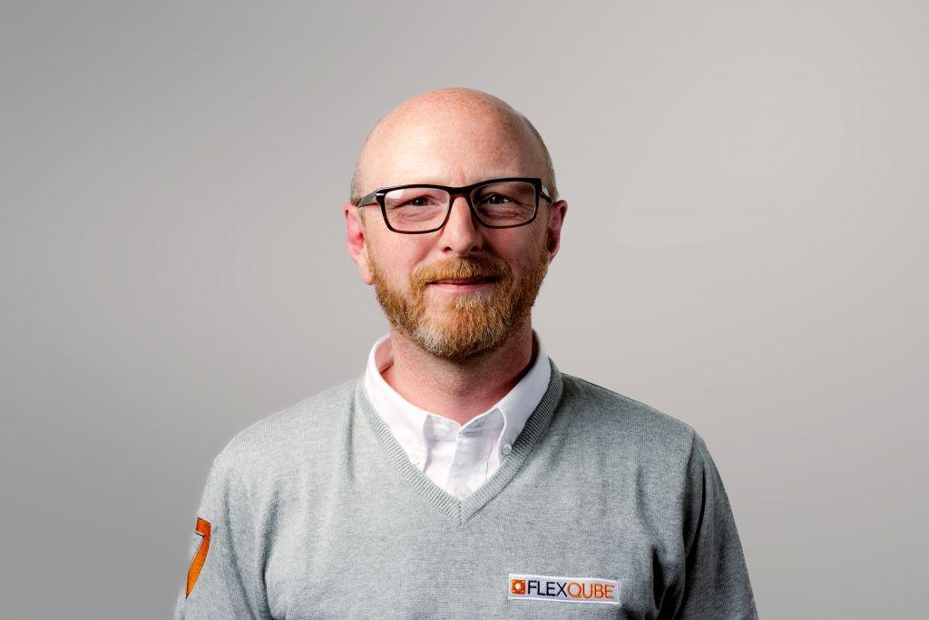FlexQube UK Sales manager Tim Massey
