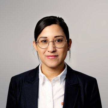 FlexQube Quality manager Cinthia Gutierrez