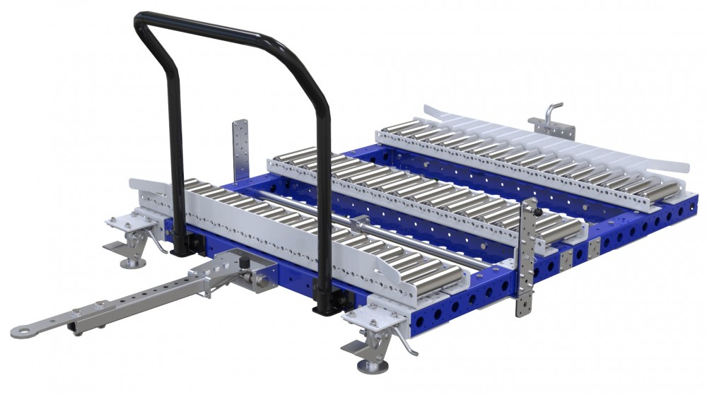 FlexQube transfer station cart