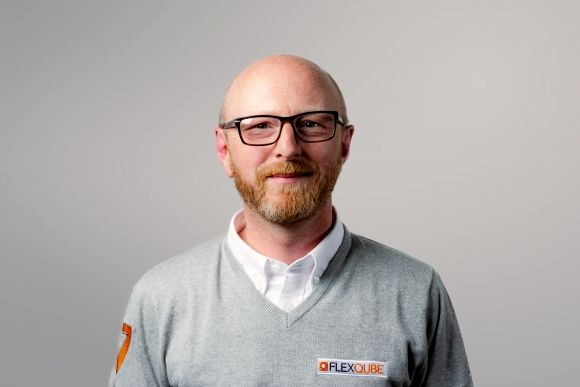 FlexQube UK Sales manager Tim Massey