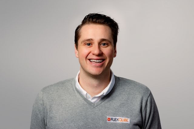 FlexQube marketing manager Luke