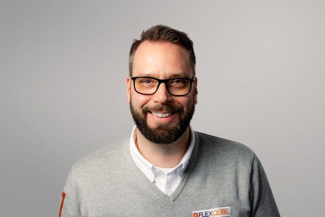FlexQube DACH Sales Manager Jan Brettmann
