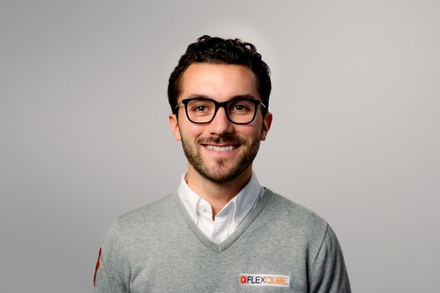 FlexQube Europe Sales manager Amir Chihani