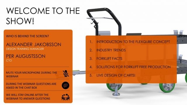 Forklift free production presentation