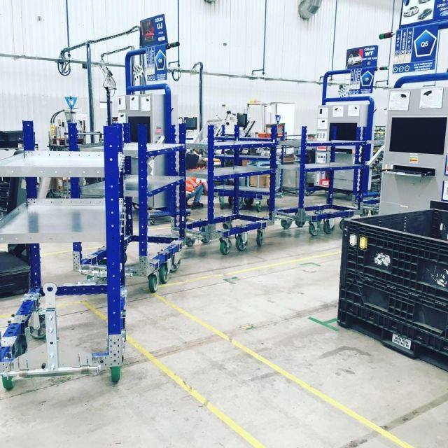 FlexQube receives follow up order from Autoliv for 34 more tugger carts!