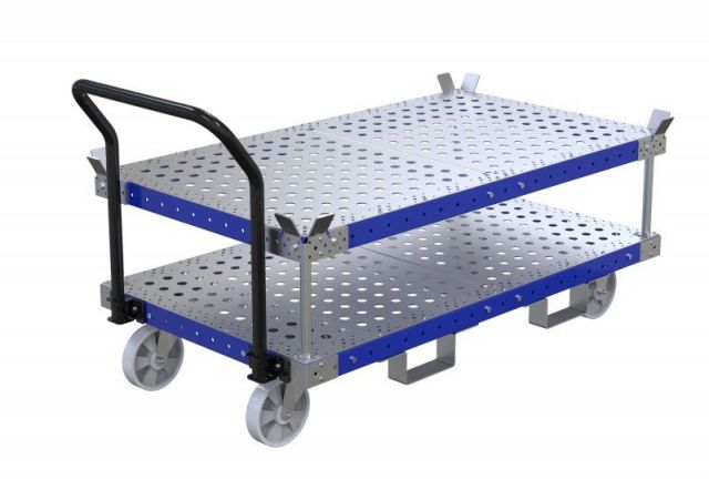 Order for stackable carts from customer in California