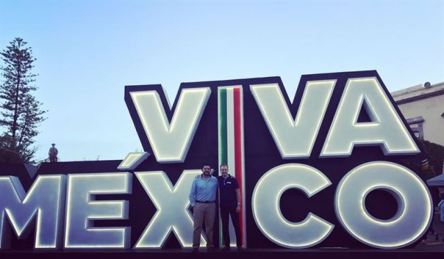 FlexQube CEO Anders Fogelberg in Mexico