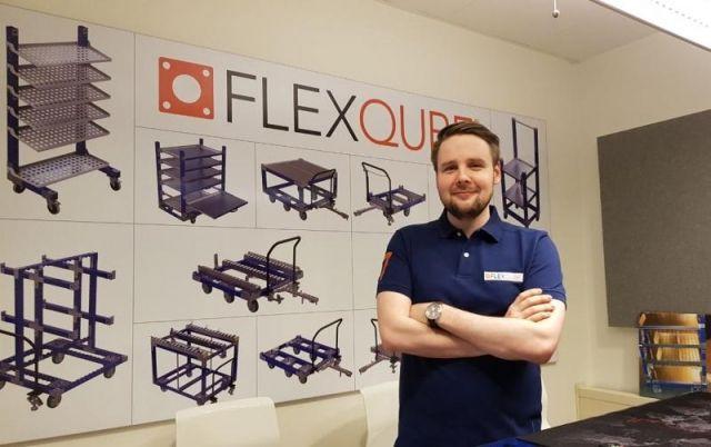 FlexQube design manager Olof Brown