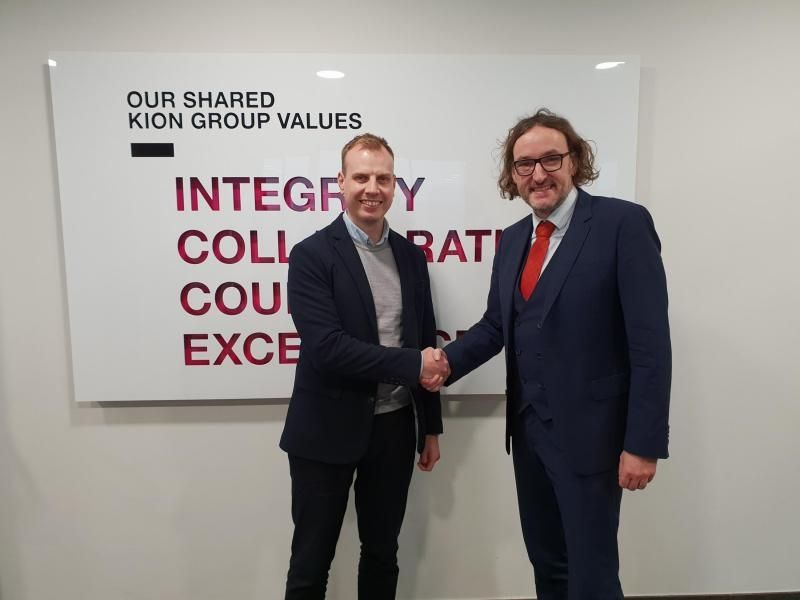 FlexQUbe CEO with Liftrunner CEO