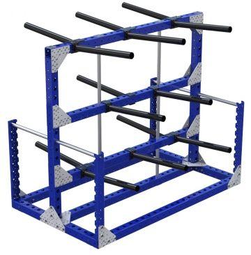 Modular & industrial material handling kit cart by FlexQube