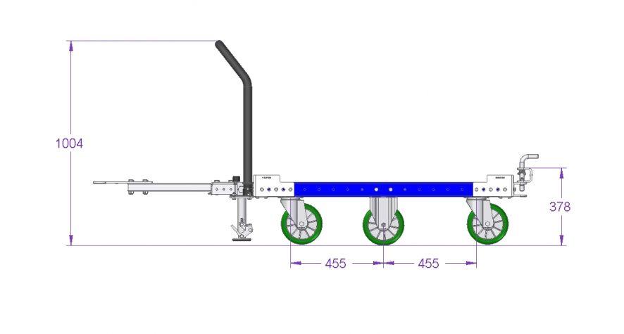 Tugger Cart –1260 x 1190 mm