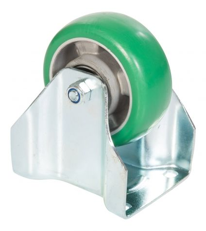 Caster Polyurethane 125 mm Fixed