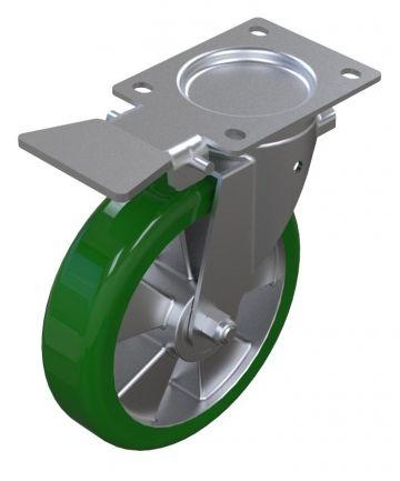 Caster Polyurethan Fix Brake - 200 mm