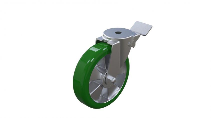 Polyurethan 200 mm with Brake IP2
