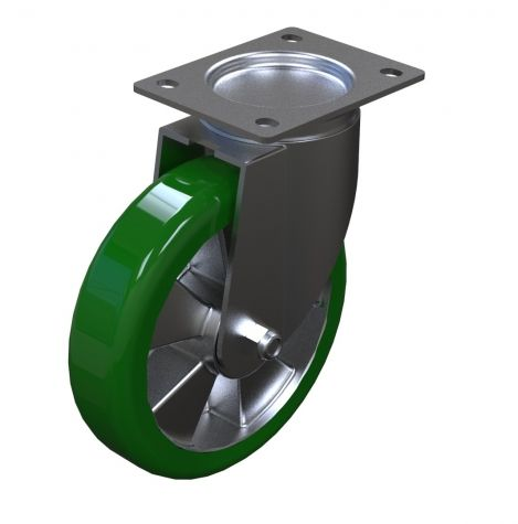 Caster Polyurethane - 200 mm Swivel
