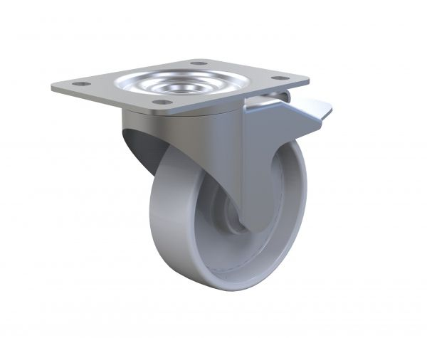 Polyamide Caster 125 mm with brake