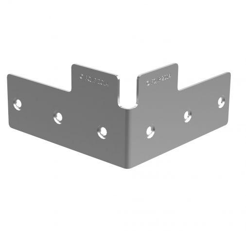 Pallet Guide Corner Plate