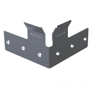 Angled Corner Plate